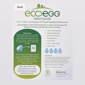 Other - Eco Egg Laundry Egg - 720 loads